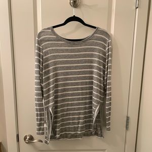 Made in USA! Comfy striped shirt
